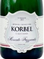 科贝尔莫斯卡托起泡酒(Korbel Moscato Frizzante,California,USA)