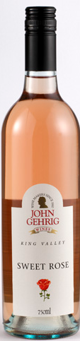 约翰格里克甜美桃红葡萄酒(John Gehrig Wines Sweet Rose,King Valley,Australia)