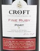 高乐福精品宝石红波特酒(Croft Fine Ruby Port, Portugal)