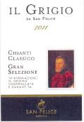 圣·菲利斯歌瑞吉经典基安帝特级精选红葡萄酒(San Felice Il Grigio Chianti Classico DOCG Gran Selezione,...)