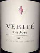 真理喜悦红葡萄酒(Verite La Joie,Sonoma County,USA)