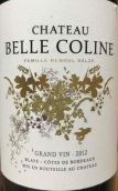 贝拉科林酒庄干红葡萄酒(Chateau Belle Coline,Blaye Cotes de Bordeaux,France)