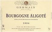 菲利普·日耳曼酒庄阿里高特白葡萄酒(Domaine Philippe Germain Bourgogne Aligote,Burgundy,France)
