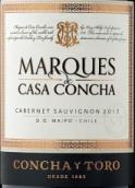 干露侯爵赤霞珠干红葡萄酒(Concha y Toro Marques de Casa Concha Cabernet Sauvignon, Puente Alto, Chile)