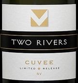 澳洲双河特酿葡萄起泡酒(Two Rivers Wines Cuvee Sparkling,Hunter Valley,Australia)