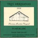 特雷斯白富美干白葡萄酒(Tres Hermanas Vineyard&Winery Fume Blanc,Santa Barbara ...)