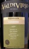 瓦帝维索珍藏佳美娜干红葡萄酒(Valdivieso Reserva Carmenere,Central Valley,Chile)