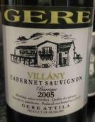 Gere Attila Pinceszete Villany Cabernet Sauvignon Barrique,...