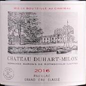 杜哈米隆古堡红葡萄酒(Chateau Duhart-Milon,Pauillac,France)