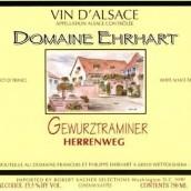 Domaine Ehrhart Gewurztraminer Herrenweg,Alsace,France
