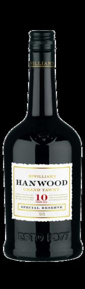 麦克威廉翰武城堡10年茶色波特风格加强酒(McWilliam's Hanwood Estate 10Yr Old Aged Tawny,South Eastern...)