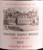 圣皮埃尔城堡红葡萄酒(Chateau Saint-Pierre, Saint-Julien, France)