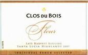 宝林酒堡粉状迟摘雷司令干白葡萄酒(Clos du Bois Fleur Late Harvest Riesling, Santa Lucia Highlands, USA)