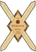 高地赫泽尼园西拉干红葡萄酒(Highlands Winery Hozhoni Vineyard Syrah,Rutherford,USA)