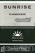 干露旭日佳美娜干红葡萄酒(Concha y Toro Sunrise Carmenere,Central Valley,Chile)