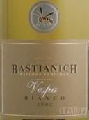 巴斯蒂安尼奇维斯帕干白葡萄酒(Bastianich Vespa Bianco Colli Orientali del Friuli, Friuli-Venezia Giulia, Italy)