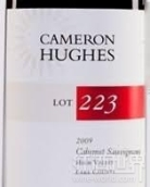 卡梅隆休斯223区赤霞珠干红葡萄酒(Cameron Hughes Lot 223 Cabernet Sauvignon,Lake County,USA)