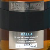 麦克米拉时刻系列泉水瑞典单一麦芽威士忌(Mackmyra Moment Kalla Svensk Single Malt Whisky,Sweden)