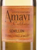 阿玛维赛美蓉干白葡萄酒(Amavi Semillon, Washington, USA)