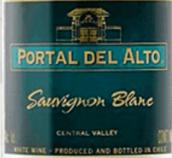 奥拓长相思干白葡萄酒(Portal del Alto Sauvignon Blanc, Central Valley, Chile)