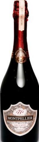图尔巴皮耶黑皮诺干型桃红起泡酒(Montpellier de Tulbagh Montpellier Brut Rose MCC Pinot Noir,...)