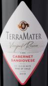 特雷玛特酒庄葡萄园珍藏系列赤霞珠桑娇维塞混酿红葡萄酒(TerraMater Vineyard Reserve Cabernet Sauvignon - Sangiovese, Maipo Valley, Chile)