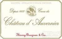 Caves du Chateau d'Auvernier Pinot Gris,Neuchatel,...