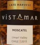 海景晚收莫斯卡托甜白葡萄酒(Vistamar Late Harvest Moscatel, Limari Valley, Chile)