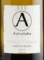 星盘特尔福德白诗南干白葡萄酒(Astrolabe Wrekin Chenin Blanc,Marlborough,New Zealand)