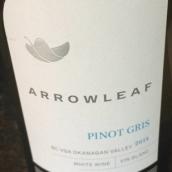 剑叶酒庄灰皮诺干白葡萄酒(Arrowleaf Pinot Gris,Okanagan Valley,Canada)