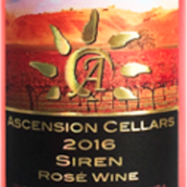上升酒庄斯韧桃红葡萄酒(Ascension Cellars Siren Rose Wine, Paso Robles, USA)