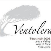 凡托莱拉长相思干白葡萄酒(Vina Litoral Ventolera Sauvignon Blanc,Leyda Valley,Chile)