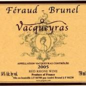 Feraud-Brunel Vacqueyras,Rhone,France