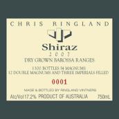 克里斯瑞兰德(三河)巴罗萨山雨露老藤设拉子干红葡萄酒(Chris Ringland (three rivers) Dry-Grown Barossa Ranges Shiraz, Barossa Valley, Australia)