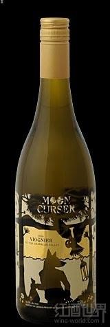 月亮光滑维欧尼干白葡萄酒(Moon Curser Viognier,Osoyoos,Canada)
