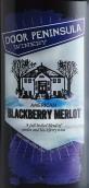 多尔半岛酒庄黑莓梅洛半甜红葡萄酒(Door Peninsula Blackberry Merlot,Wisconsin,USA)