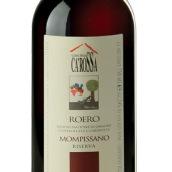 罗萨舍罗埃罗蒙皮莎干红葡萄酒(Cascina Ca'Rossa Roero Mompissano,Roero DOCG,Italy)
