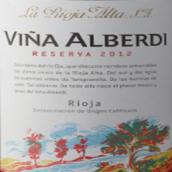 橡树河畔雅芭笛珍藏红葡萄酒(La Rioja Alta S.A. Vina Alberdi Reserva, Rioja, Spain)