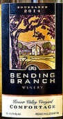 曲枝胡佛谷园舒适干白葡萄酒(Bending Branch Hoover Valley Vineyards Comfortage,Texas,USA)