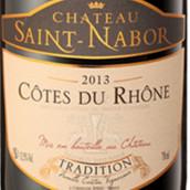圣拿波传统混酿干红葡萄酒(Chateau Saint Nabor Cotes du Rhone Tradition Red,Rhone,...)