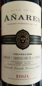 奥拉希酒庄安纳瑞斯陈酿干红葡萄酒(Grupo Bodegas Olarra Anares Crianza, Rioja DOCa, Spain)