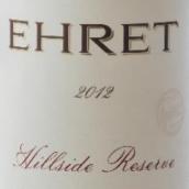 厄莱家族酒庄山边珍藏干红葡萄酒(Ehret Hillside Reserve, Knights Valley, USA)