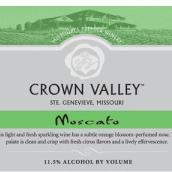 冠谷酒庄莫斯卡托甜白起泡酒(Crown Valley Winery Sparkling Muscato,Missouri,USA)