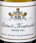 勒弗莱酒庄巴塔-蒙哈榭特级园白葡萄酒(Domaine Leflaive Batard-Montrachet Grand Cru, Cote de Beaune, France)