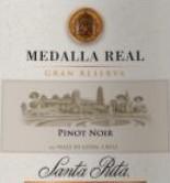 桑塔丽塔真实勋章特级珍藏黑皮诺干红葡萄酒(Santa Rita Medalla Real Gran Reserva Pinot Noir,Leyda Valley...)