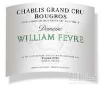 威廉·费尔宝歌园干白葡萄酒(Domaine William Fevre Bougros, Chablis, France)