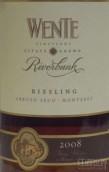 威迪河堤雷司令干白葡萄酒(Wente Riverbank Riesling, Arroyo Seco, USA)