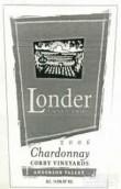 伦德尔科比园霞多丽白葡萄酒(Londer Corby Vineyards Chardonnay,Anderson Valley,USA)