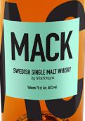 麦克米拉麦克瑞典单一麦芽威士忌(Mack by Mackmyra Swedish Single Malt Whisky,Sweden)