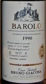嘉科萨卡斯蒂格隆法莱特区干红葡萄酒(Bruno Giacosa Villero di Castiglione Falletto,Barolo,Italy)